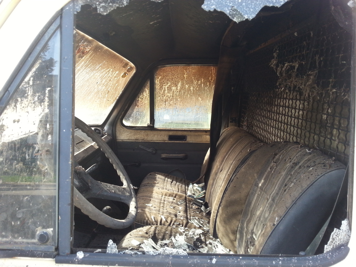 masina incendiata (2)