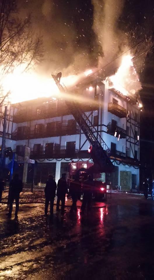 incendiu posada arges 2